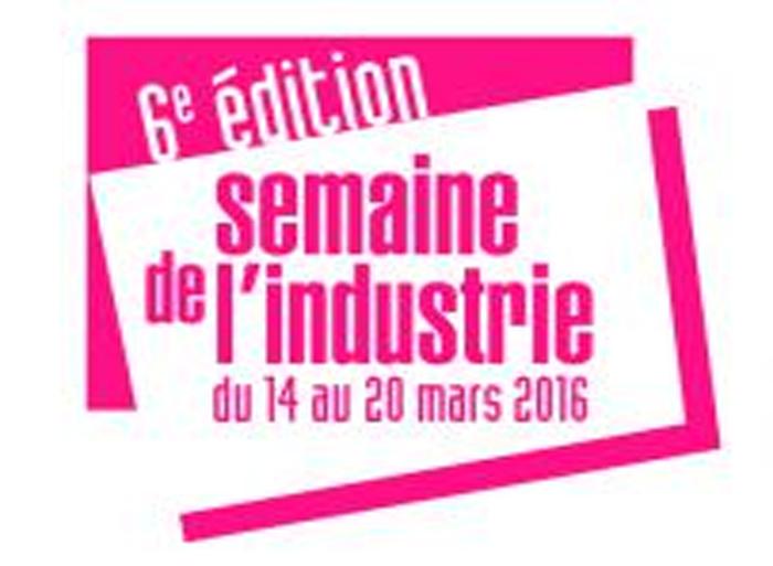 Semaine de l'industrie 2016